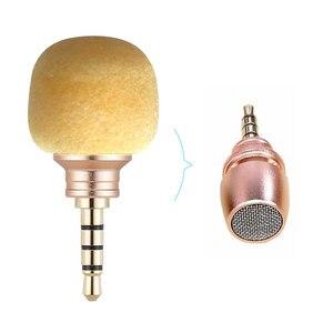 Image 4 - Capsaver Mini Microfoon Voor Mobiel Smartphone Draagbare Draadloze Mic Kleine Microfoon Voor Android Telefoon 3.5Mm Jack