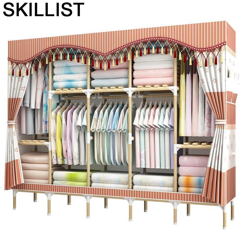 Almacenamiento Yatak Odasi Mobilya Dresser font b Closet b font Storage Tela Armario Moveis Guarda Roupa