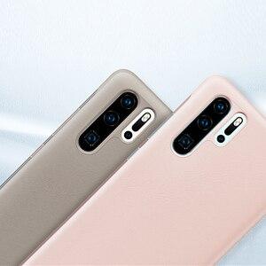 Image 5 - Huawei אותנטי אינטליגנטי מגן Flip מקרה עור כיסוי עבור Huawei P30 Huawei P30 פרו טלפון כיסוי