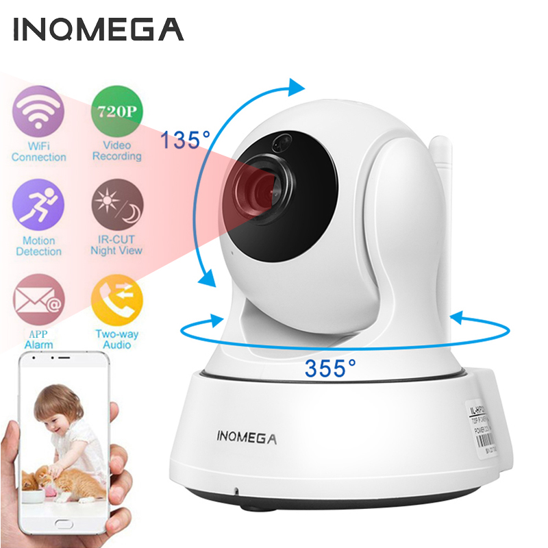 INQMEGA 1080P Home Security IP Camera Wi-Fi Wireless Mini Network Camera Surveillance Wifi Night Vision CCTV Camera Baby Monitor