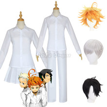 The Promised Neverland Yakusoku no Neverland Emma Cosplay Shirt Dress Norman Shirt Pants Uniform Outfit Anime Costumes C46D14