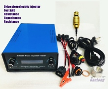 piezo injector tester CRI250 for Siemens diesel common rail VDO piezoelectric injector AHE dynamic lift travel measuring tool