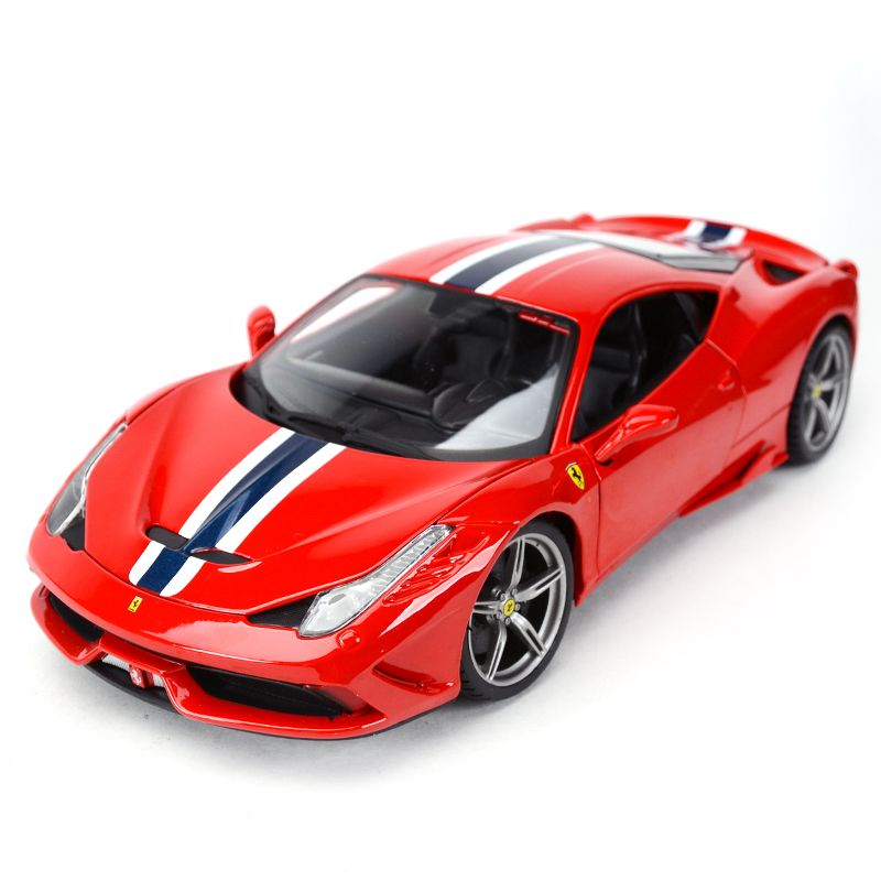 Bburago 1:18 458 Speciale Sports Car Static Simulation Diecast Alloy Model Car