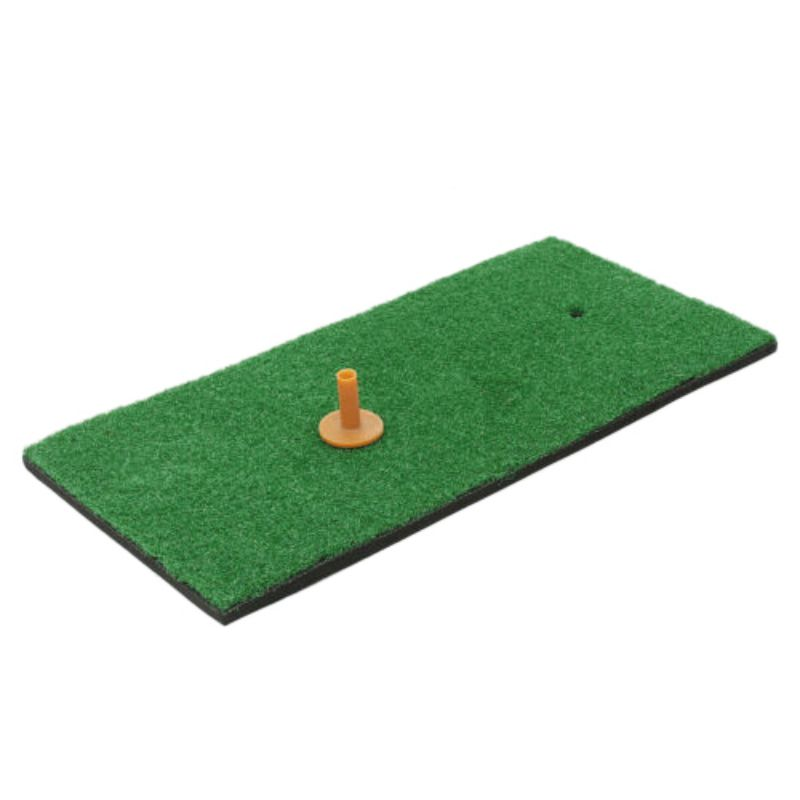 High-quality Golf Putting Training Mats Pad Durable Lightweight Easy To Carry Nylon Turf Chipping Driving Range Practice Pad