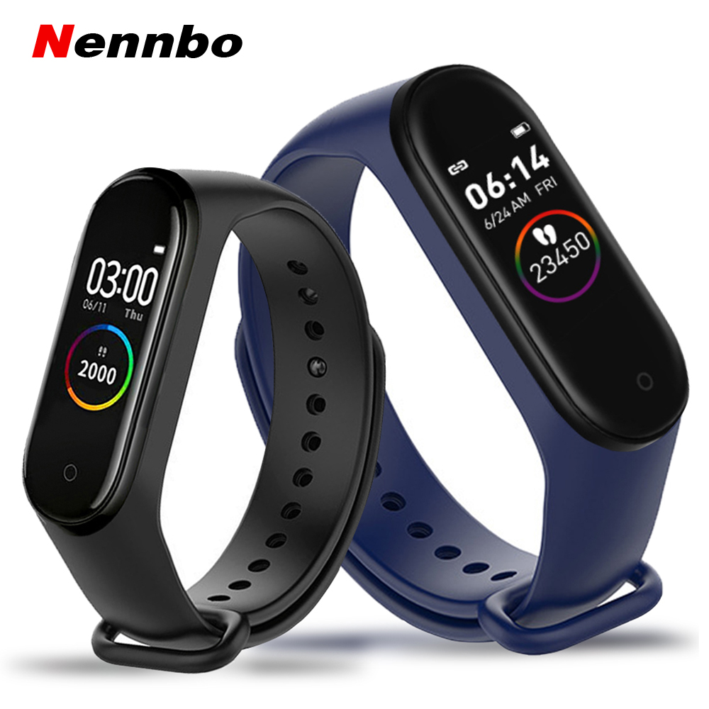 M4 Smart band 4 Outdoor Fitness Tracker Watch Sports bracelet Heart Rate Blood Pressure Smartband Monitor Health Wristband