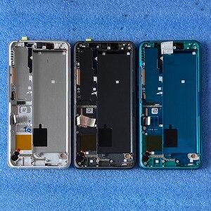 Image 3 - Оригинальный ЖК экран 6,47 дюйма для Xiaomi Mi Note 10 Mi Note 10 Pro, рамка + сенсорная панель, дигитайзер для Xiaomi Mi CC9 Pro