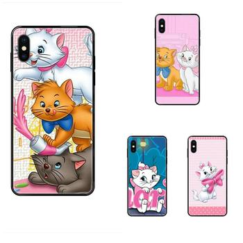 Soft Cute Skin The Cartoon Aristocats For Redmi 3S 4X 4A 5 5A 6 6A 7 7A 8 8A 8T 9 9A K20 K30 S2 Y2 Pro Plus Ultra image