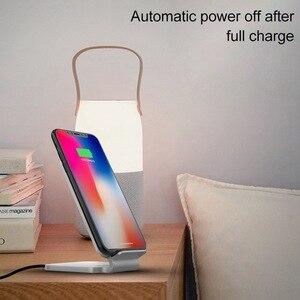 Image 4 - KISSCASE 10W ładowarka bezprzewodowa do iPhone XS drewniane szybkie bezprzewodowe ładowanie do Samsung Galaxy S9 S8 uwaga 10 ładowarka do telefonu
