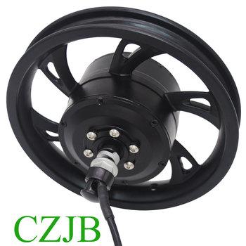 цена на Geared high torque 12 inch electric bicycle motor for foldable bike
