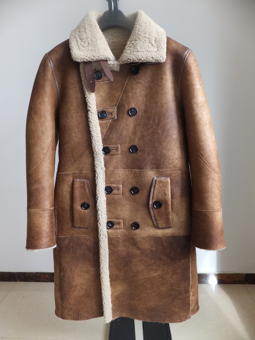 H160d6714a3d34ad38f93c5b3dfbddeb49 Fashion Real Sheepskin Fur Coat Genuine Leather Male Formal Winter Long Thick Jacket Sheepskin Shearling Men Fur Coffee Coat 4XL
