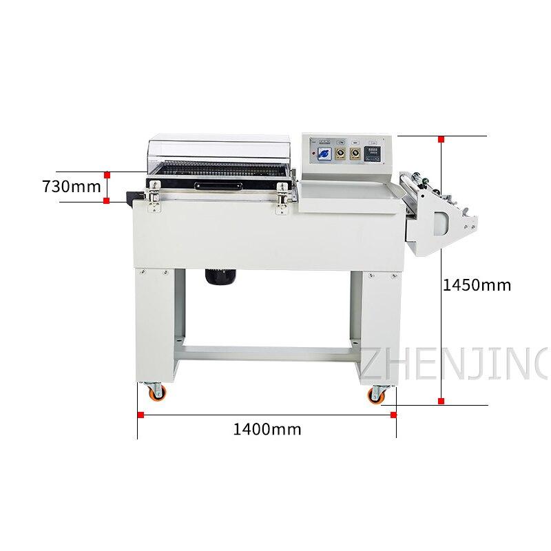 Dwa w jednym termokurczliwe maszyna pakująca belownica kurcząca maszyna uszczelniająca maszyna do cięcia termokurczliwego wielofunkcyjne narzędzie do pakowania
