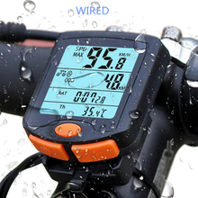 BOGEER, medidor de velocidad de bicicleta YT-813, bicicleta Digital, ordenador, multifunción, sensores de deportes a prueba de agua, velocímetro para ordenador y bicicleta