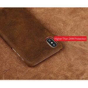 Image 2 - אמיתי למשוך למעלה עור טלפון מקרה FHX NP עבור iphone 5 5S SE 6 8 7 6s בתוספת כיסוי עבור iphone X 11 11 פרו 11 פרו מקס XS XR XS מקסימום