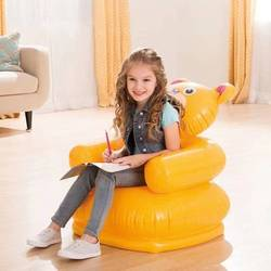 Диваны Раскладные Lucht Opblaasbare Dining Sofa Kinderen Cartoon Meubels Kindje Draagbare Veiligheid Rugleuning Stoelen Kruk Kind Stoel