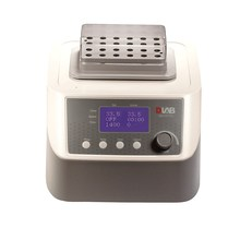 цена на LCD Digital Dry Bath With Heating & Mixing Thermo Mix DLab HM100-Pro Constant Temperature Oscillation Metal Bath