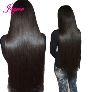 Image 5 - Jaycee Malaysian Straight Hair Bundles With Closure Remy Human Hair Maylasian Hair With Closure 3 Bundles with Closure