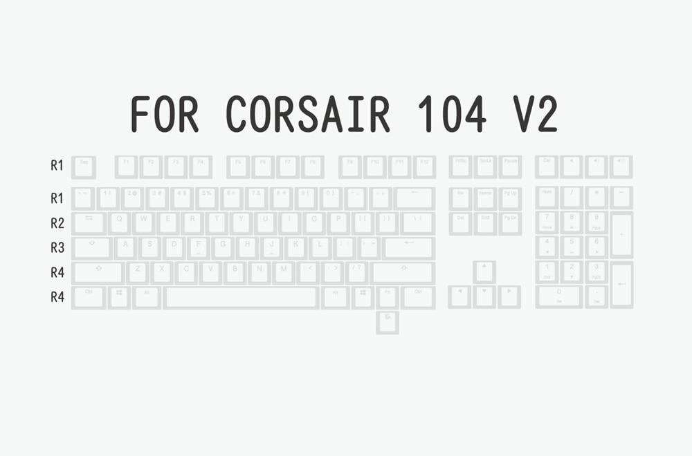 布丁V2白白-corsair 104