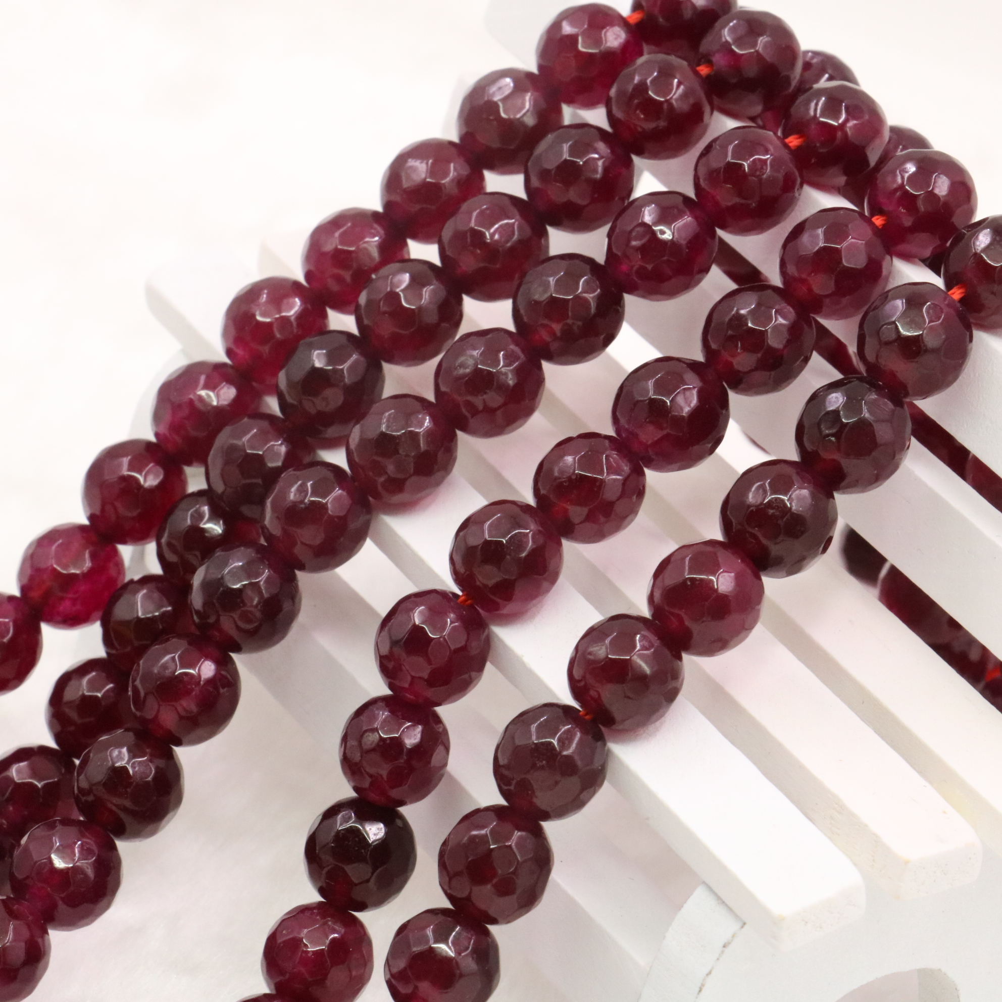 12mm Natural Carnelian Red Ruby Round Loose Beads Gemstones