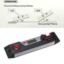 LCD Digital NEW Inclinometer Protractor Digital Anger Finder Angle Gauge Horizontal Bevel Box Wholesale
