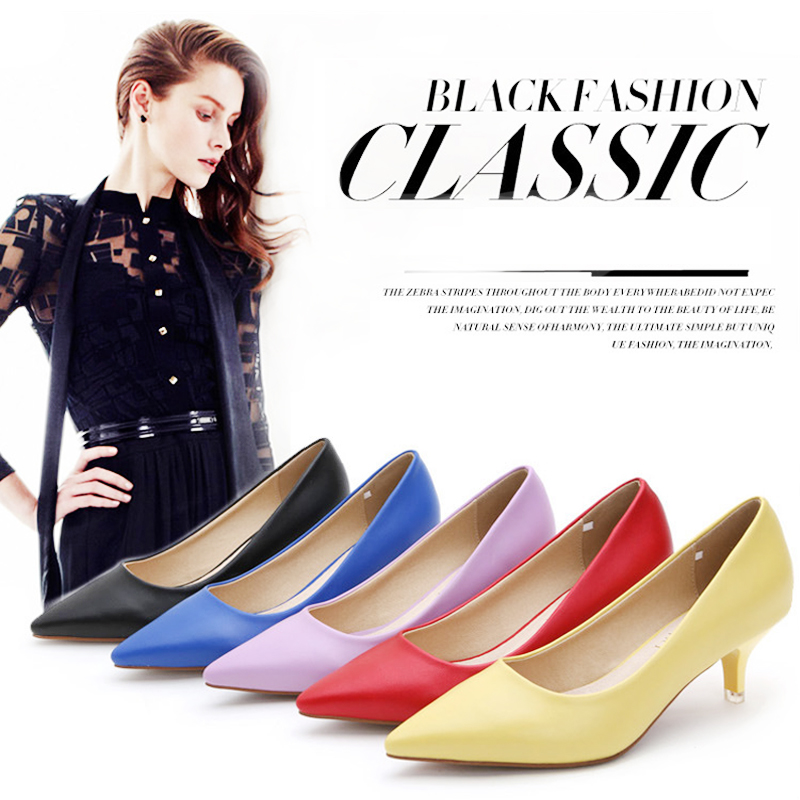 Ladies Shoes High Heels Patent Leather Classic Pumps Sexy Dress Prom Wedding Women PU Pointed Toe Beige Red Bottoms Shoes