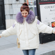 New Winter 2019 Casual Fur Hooded Parka Women Sustans Pockets Wide Waisted Thick Long Plus Size Snow Jackets Coats Solid Zipper