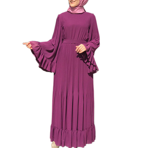 Eid Abaya Dubai Muslim Hijab Dress Kaftan Abayas For Women Jilbab Caftan Islamic Turkish Clothing Prayer Clothes Tesettur Elbise