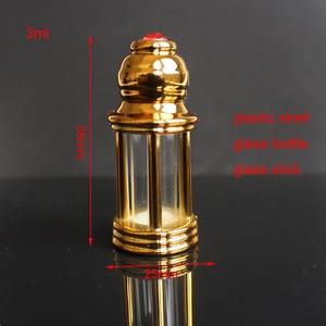 Image 5 - 10pcs 30pcs 60pcs/lot lot 3ml Glass Essential Oil Bottle Small Dropper Glass Bottle with Glass Stick Sample Test Vials Display