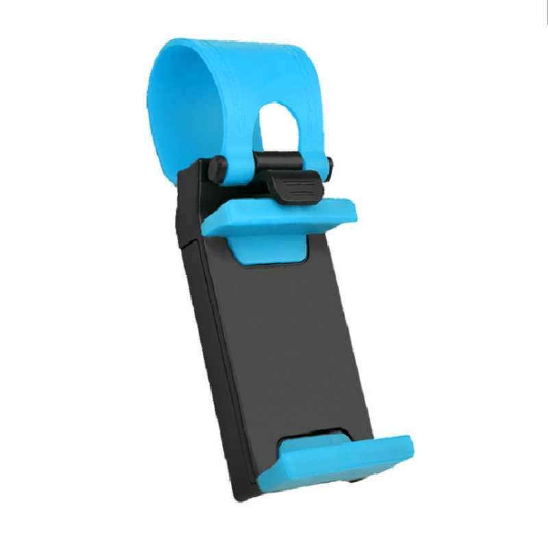 Soporte de Montura Universal para volante de coche soporte de montura 8 7 para iPhone 7Plus 6 6s Samsung Xiaomi Huawei