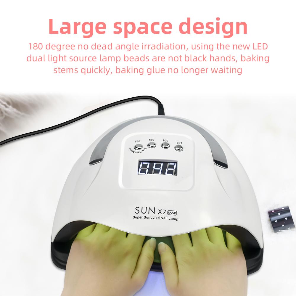 מנורת UV חדשה למייבש ציפורניים