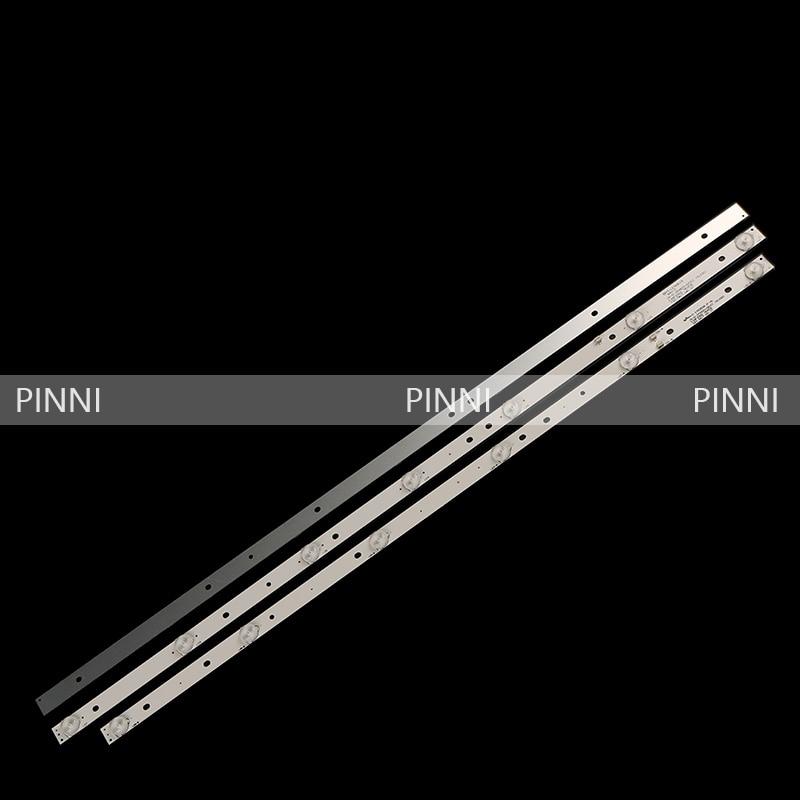 LED Backlight Strip Lamp For JS-D-JP3920-061EC JS-D-JP3920-071EC E39F2000 MCPCB AKAI AKTV401 AKTV403 AKTV4021 D39-F2000 LC390TA