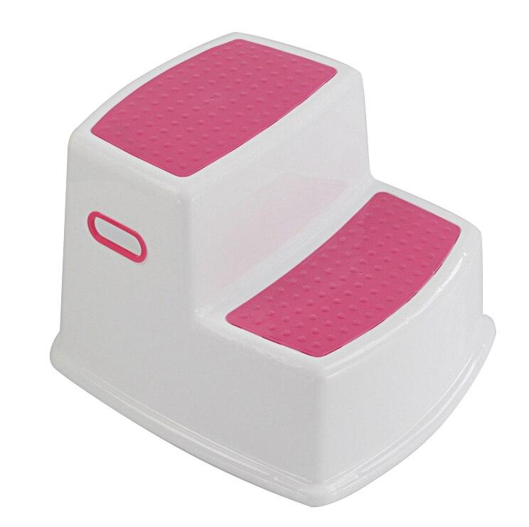 2 Step Stool For Kids Toddler Stool For Toilet Potty Training Slip Bathroom Kitchen M09