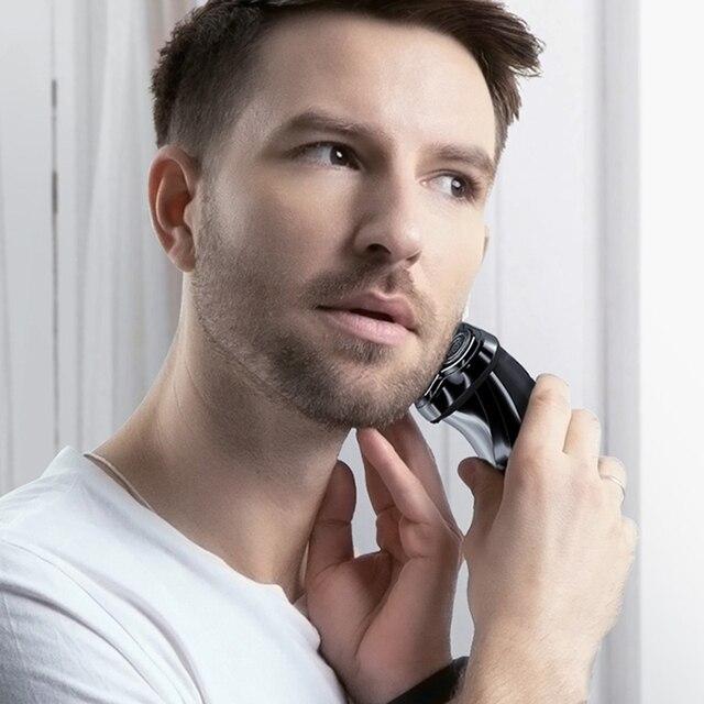 ENCHEN Blackstone 3D Electric Shaver Razor For Men IPX7 Waterproof Wet & Dry Dual Use LCD Display Face Beard Shaving Razor 6