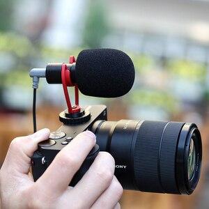 Image 4 - SAIREN VM Q1 3.5MM Shotgun וידאו מיקרופון שיא עבור DSLR מצלמה Gimbal Smartphone אוסמו כיס Youtube Vlog מיקרופון iPhone אנדרואיד