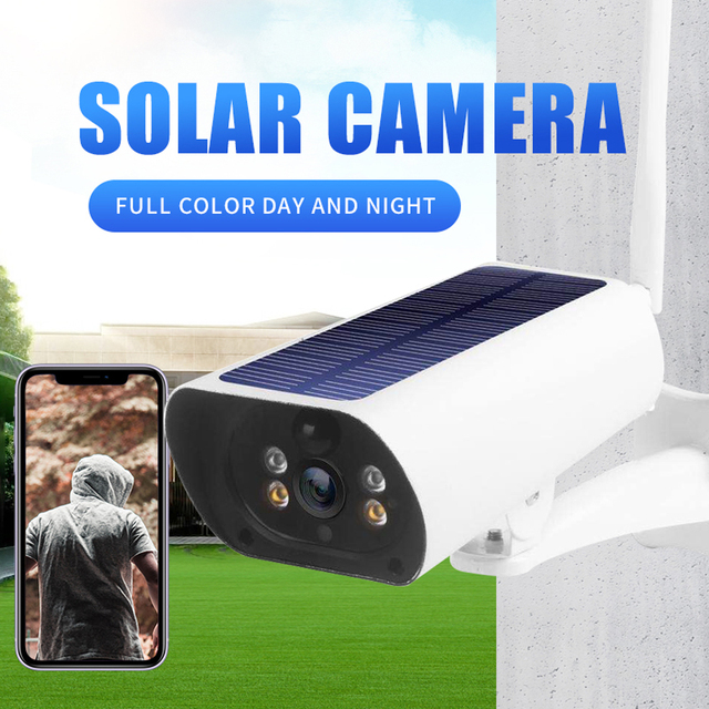 Hebeiros 4G LTE FDD GSM Solar Battery Wireless Camera 1080P Waterproof Outdoor Wifi Camera Security Surveillance CCTV IP Camera 2