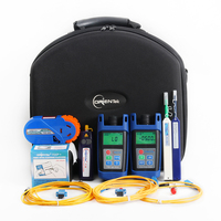 Orientek FTTH Loss Test Tool Kit Fiber Optic Power Meter Optical Light Source VFL OPM OLS Fiber Optic Tool Kit