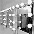Затемняемый Светодиодный зеркальный светильник для макияжа  туалетный столик  Белый настенный светильник E27  набор с диммером  DIY косметиче...