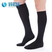 Chaussettes de Compression médicales pour hommes, 30-40 mmHg, pour course et Fitness, œdème, diabétique, varices, voyage et vol, grossesse, infirmière