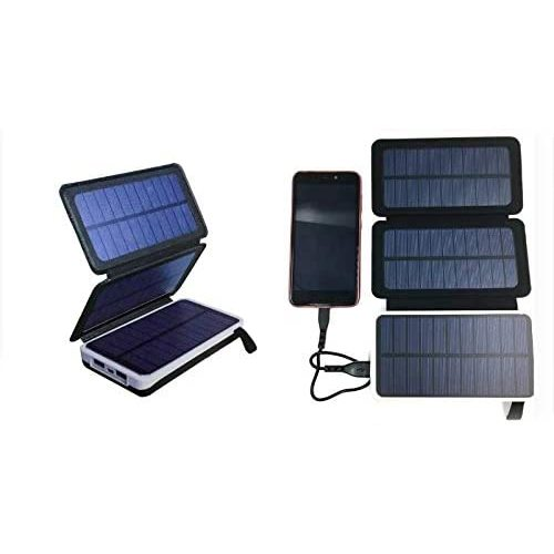 SOLAR Charger with SOLAR external battery 10000MAH SOLAR panels HAVIT