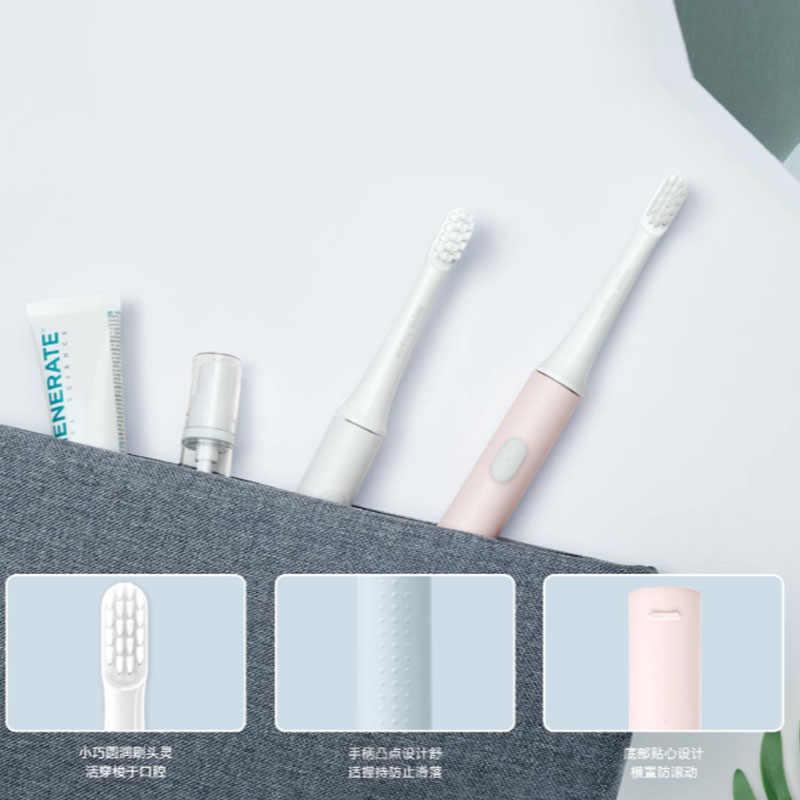 [最新バージョン] オリジナルxiaomi mijia T100 ミスマートフォン電気歯ブラシ 46 グラム 2 速度xiaomiソニック歯ブラシ美白口腔ケア
