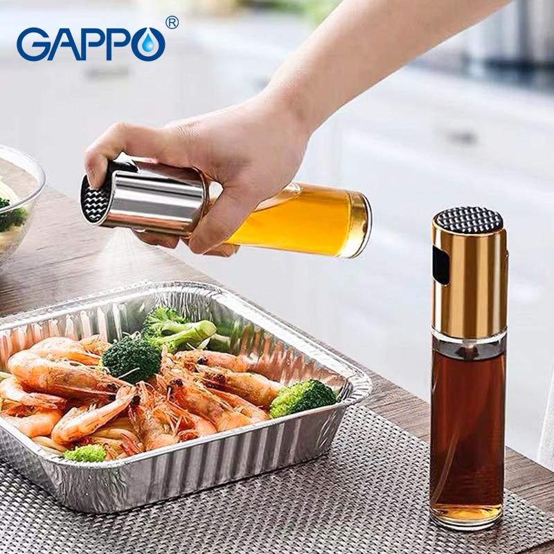 Kitchen Baking Oil Cook Oil Spray Empty Bottle Vinegar Bottle Oil Dispenser Cooking Tool Salad BBQ Cooking Glass Oil sprayer-in Cooking Tool Sets from Home & Garden
