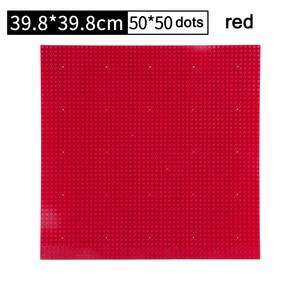 32*32 Dots Kunststoff Blöcke Basis Platten 50*50 Rosa Kompatibel Legoing Stadt Klassische Spielzeug Mini Gebäude Ziegel baseplates für Kinder