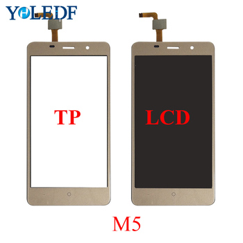 5.0'' LCD Touch Panel For Leagoo M5 Display Touch Screen Digitizer Ecran Repair Parts Pantalla Front Glass Lens Sensor Assembly image