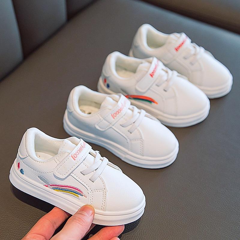 Kids Skate Shoes White Boys Girls