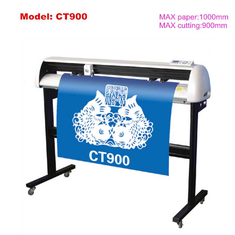 630-1200 Mm Digital Vinyl Sticker Cutting Foto Mesin