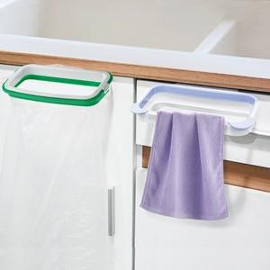 Висячая стойка для хранения мусорного ящика для кухонной двери