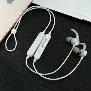 Image 1 - At20 sem fio fones de ouvido, in ear esportes bluetooth fones de ouvido, toque mudança subwoofer e agudos eq efeitos sonoros, telefone móvel usb c