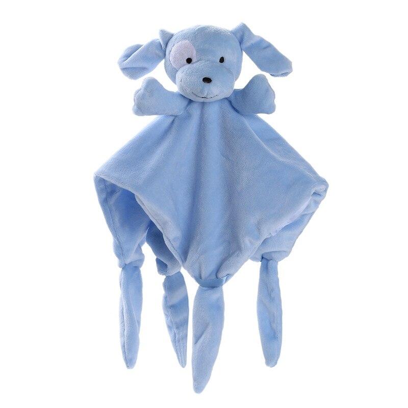 Baby Soft Plush Cute Bear Blankie Bib Kids Infant Toy Gift Comfort Towel Infant