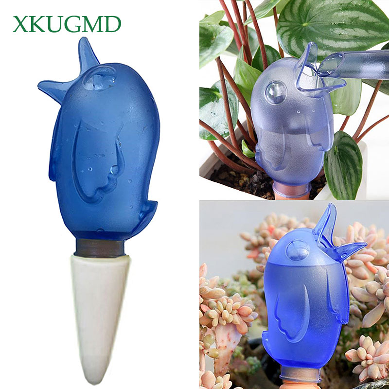 Garden Automatic Watering Tool Cute Birds Indoor Drip Irrigation Watering System Kit Potted Plant Waterers Spike For Houseplant
