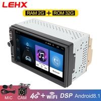 Android8.1 Car radio Multimedia Video Player 2 Din Universal auto Radio GPS Navigation for Volkswagen Nissan Hyundai Kia toyota