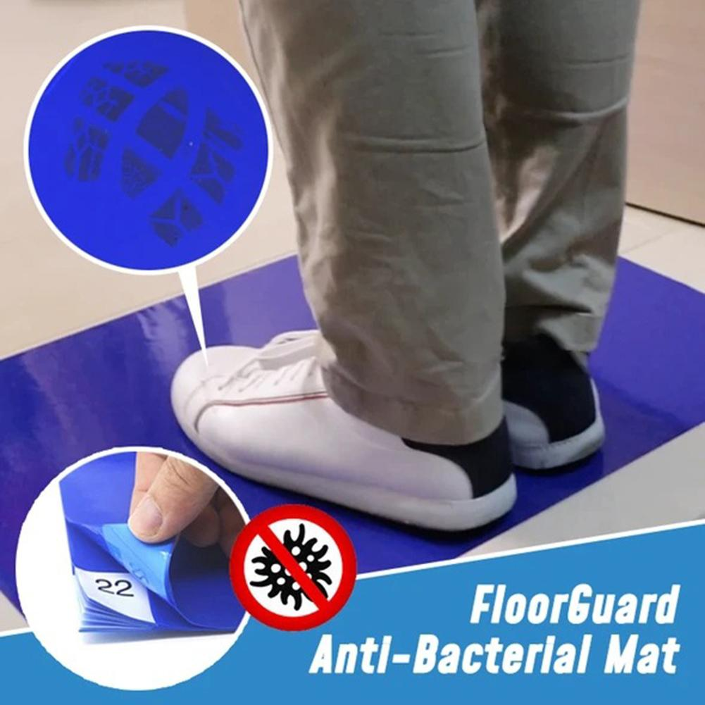 Anti Bacterial 30-Layer Peel Off Sticky Floor Door Mat Dust Dirt Remover Pad Dust Remover Sticky Peel Off 30-Layer Anti-bacteria